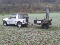 Jeep Vitara mit Nmin Probenehmer bis 60cm